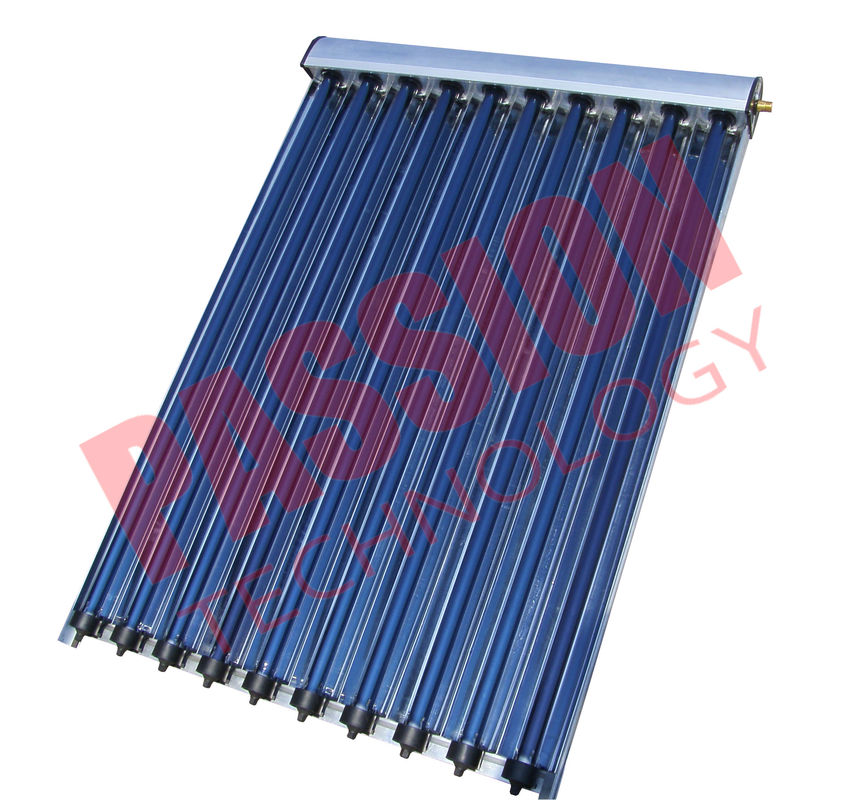Professional Solar Heat Pipe Collector , Solar Water Collector 20 Years Lifespan