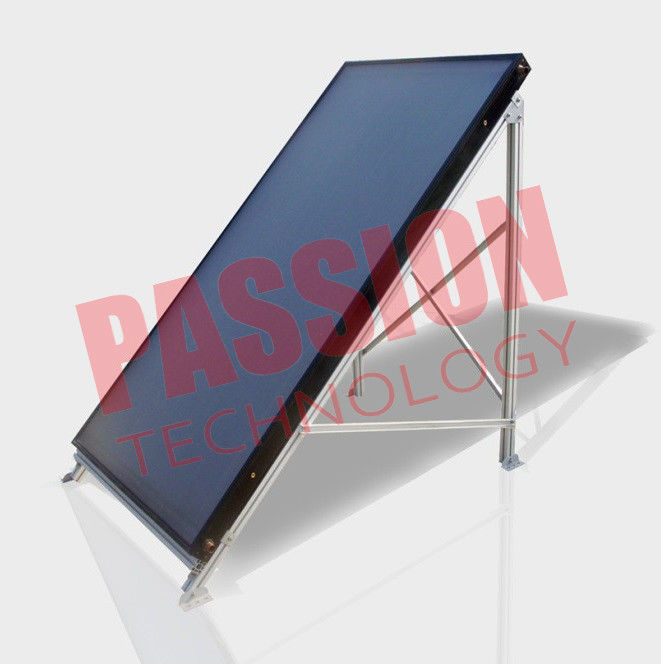 High Performance Flat Plate Solar Collector Long Life Aluminum Alloy Frame